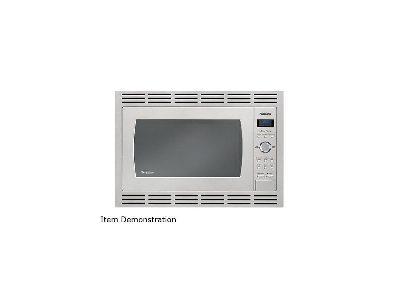 30 stainless steel microwave trim kit