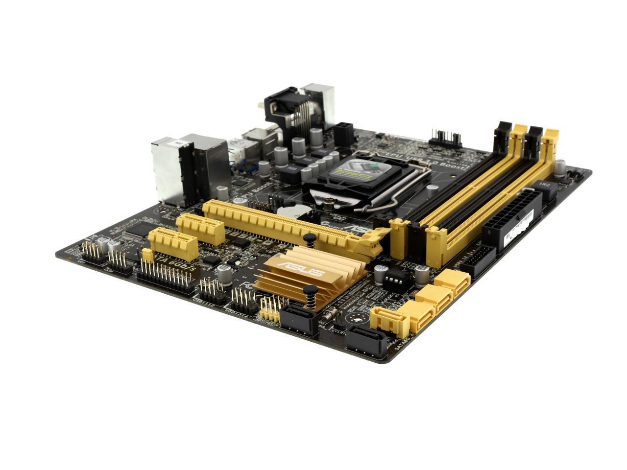 Used - Very Good: ASUS B85M-G R2.0 LGA 1150 Micro ATX Intel Motherboard - Newegg.com