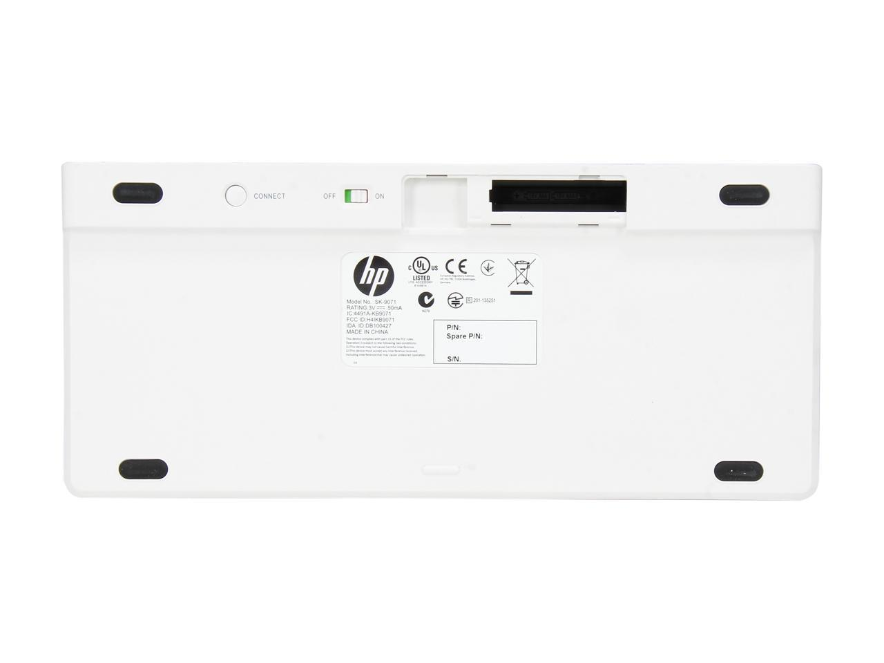 Refurbished: HP K4000 E5J21AA#ABA Black Bluetooth Wireless
