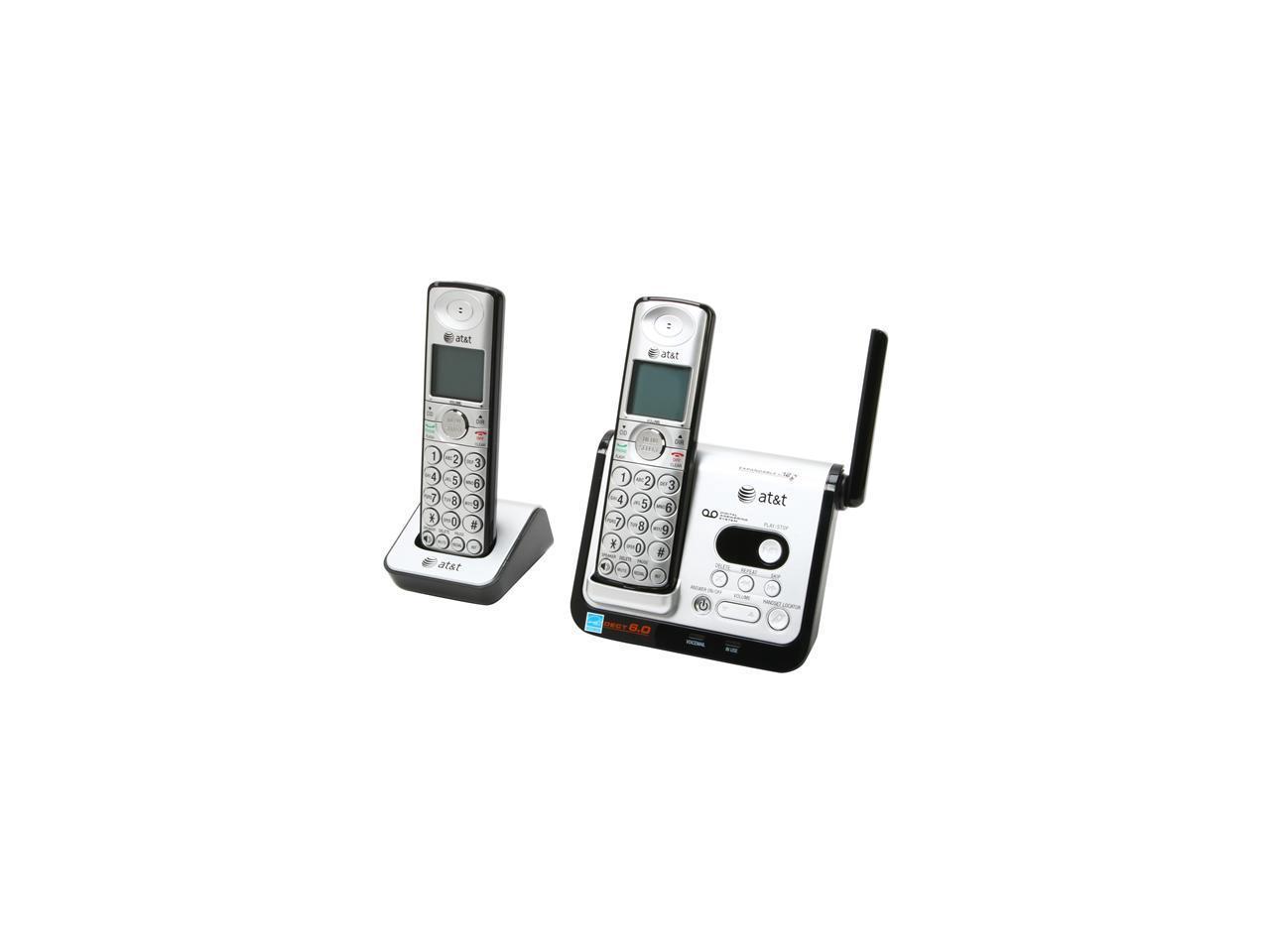 AT&T CL82209 1.9 GHz Digital DECT 6.0 2X Handsets Cordless