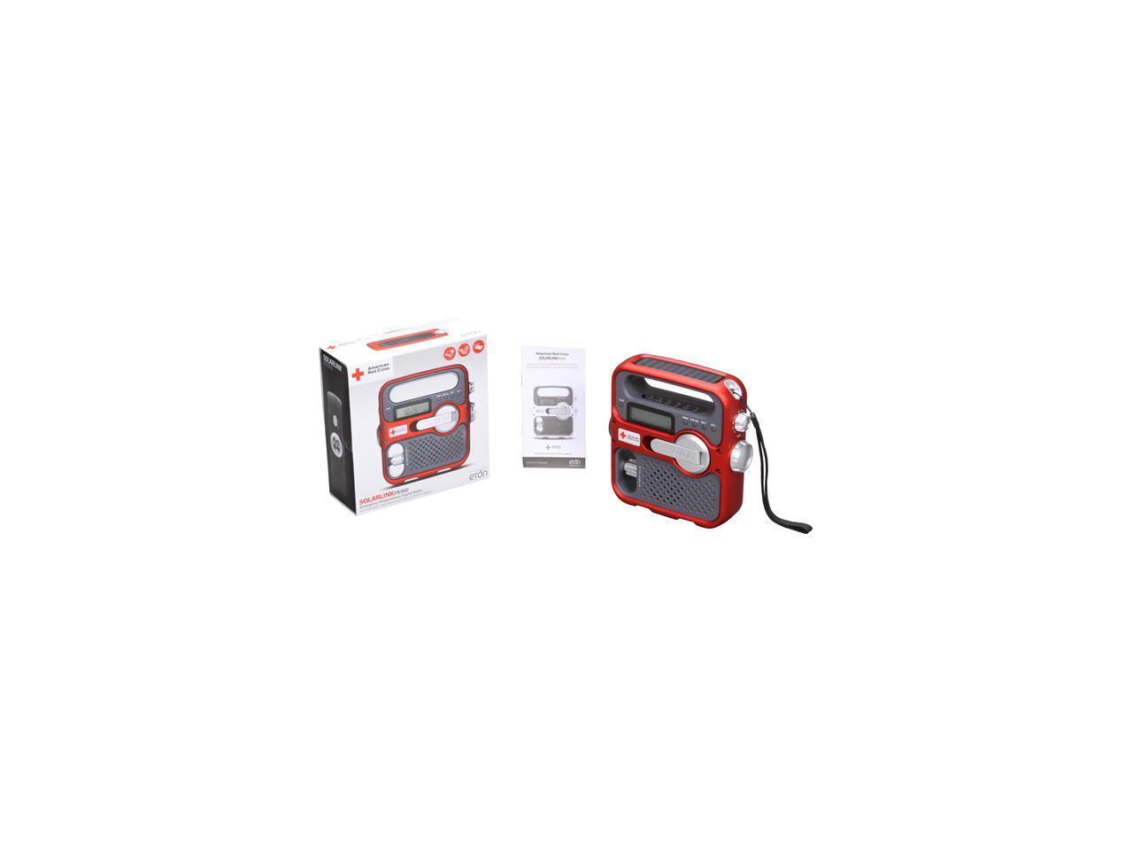 eton American Red Cross SOLARLINK Portable Radio ARC FR360