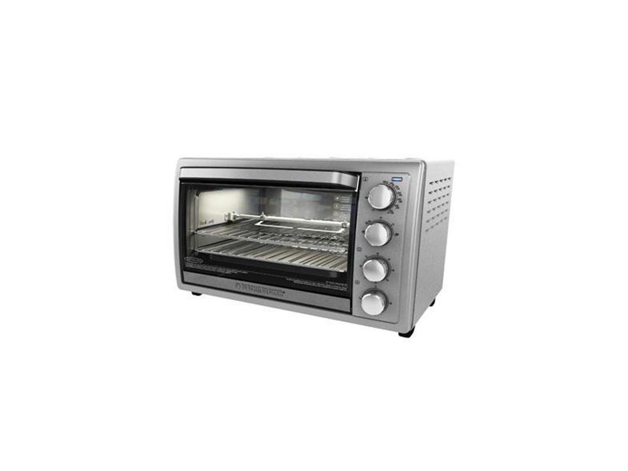 Applica To4314ssd Bd 9 Slice Rotisserie Convection Countertop Oven Stainless Newegg Com