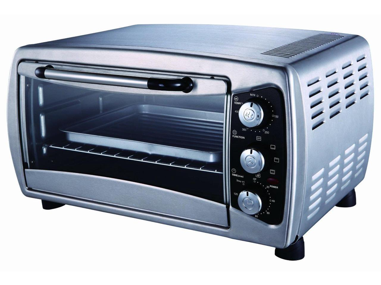 Sunpentown Stainless Countertop Convection Oven So 1006 Newegg Com