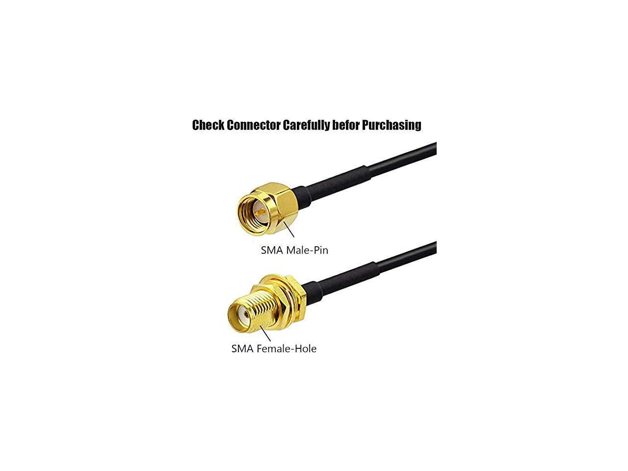 16ft SMA Extension Cable SMA Male to SMA Female RF