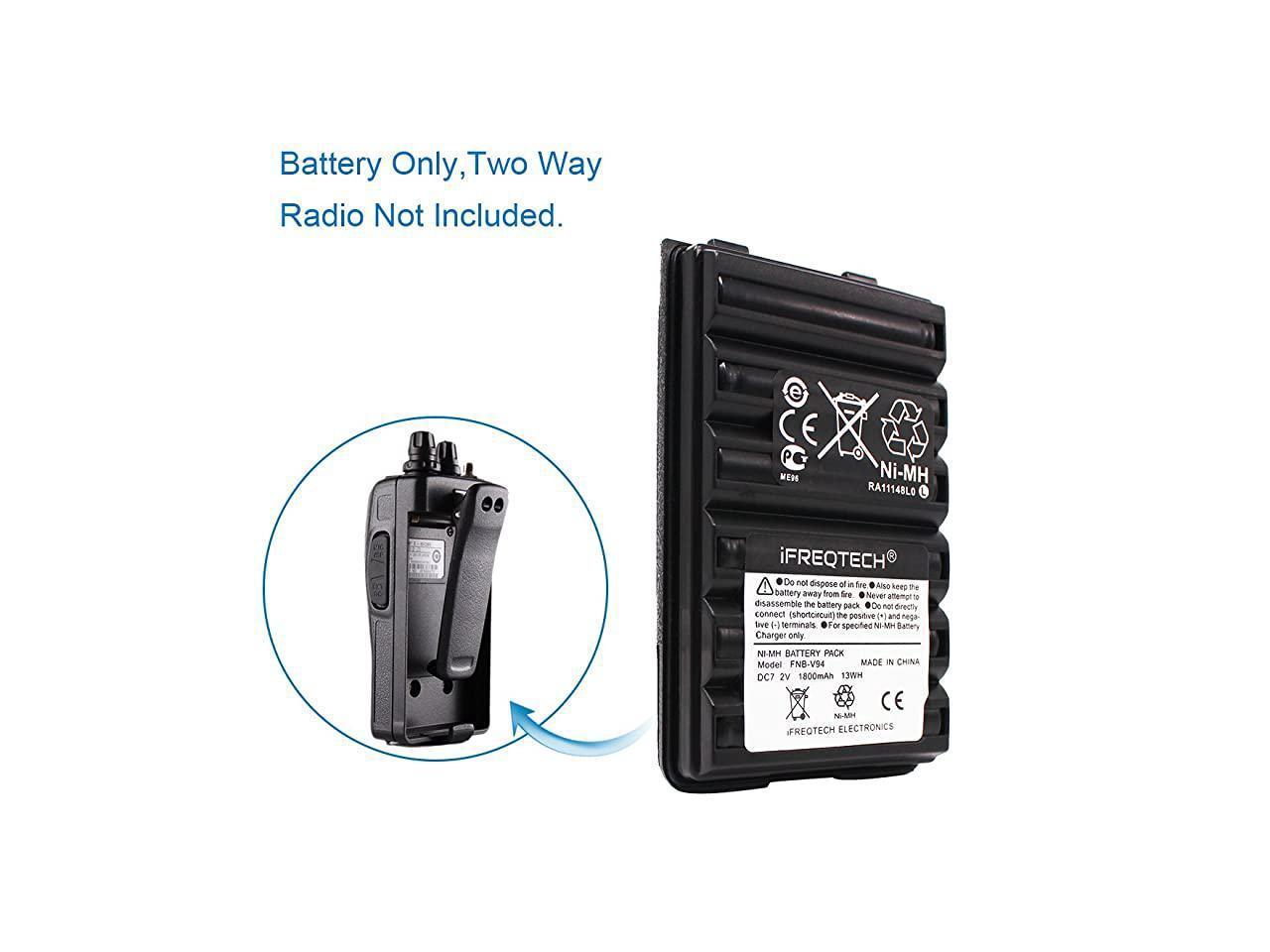 Battery for FT60 VX110 VX120 VX150 VX160 VX170 VX180 FT60R