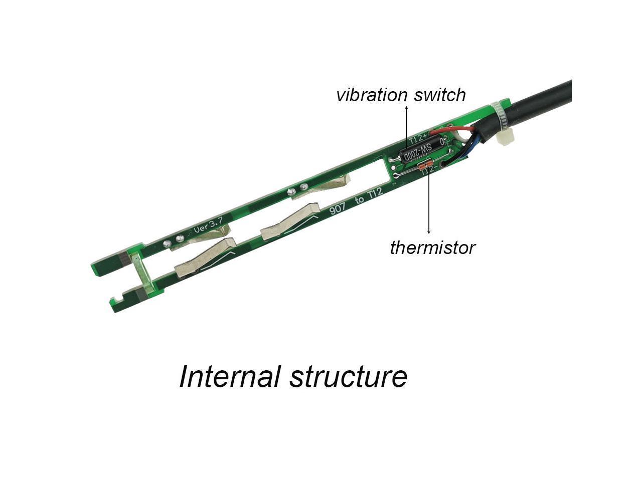 OLED Digital Soldering Iron Station & T12 Handle Finished