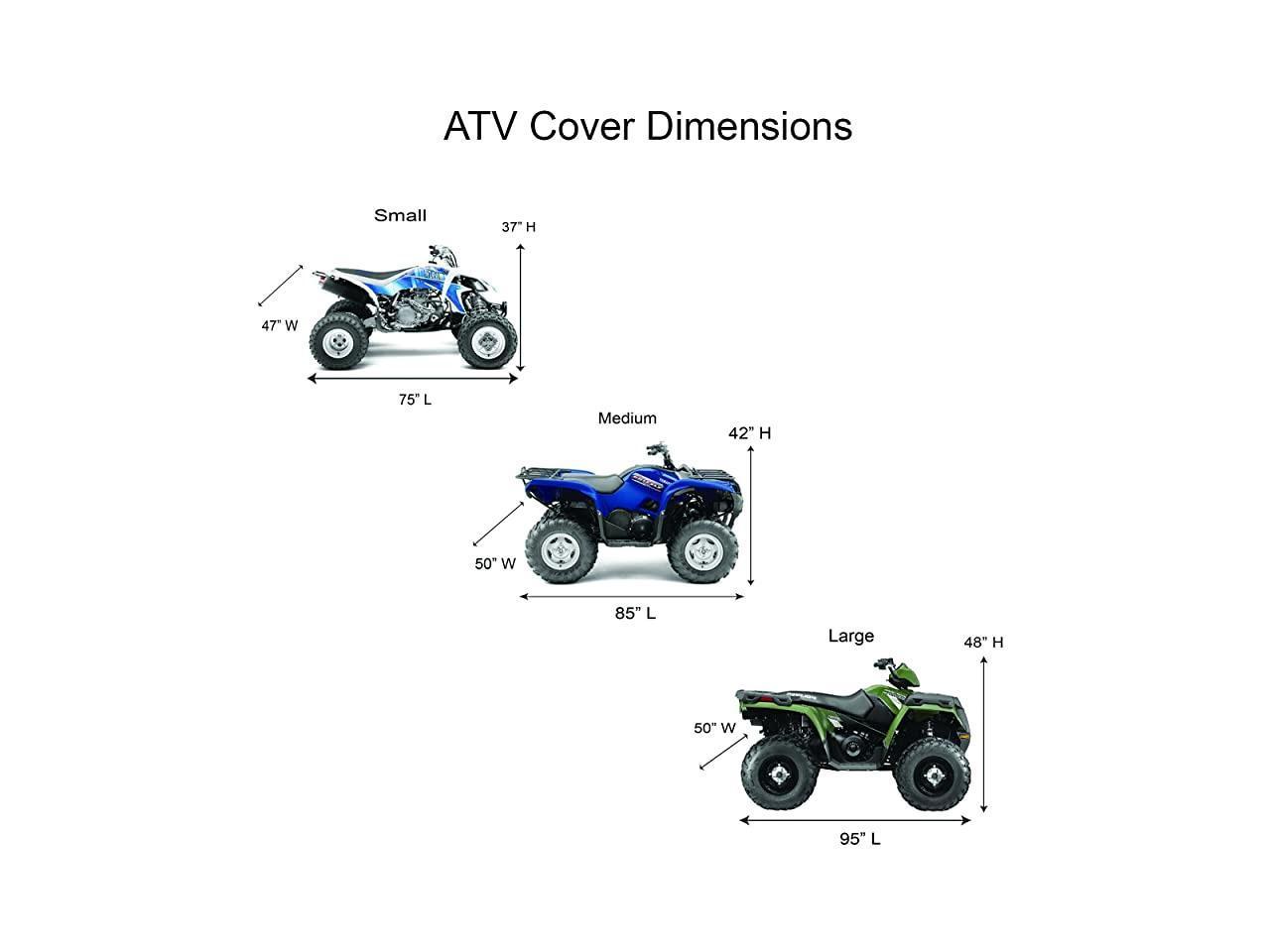 Moto Ultimate Atv Cover Waterproof Heavy Duty Four Wheeler