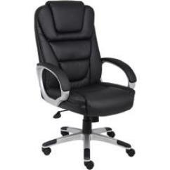 Serie 142 Chair Kiosk Design Gray Desk Office Furniture Computer Chairs Desks More Newegg Com Boss Products Black Upholstered With Leatherplus Executive B8601