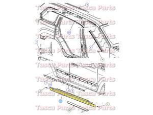 Chrysler, Body, Paint, Body & Trim, Automotive