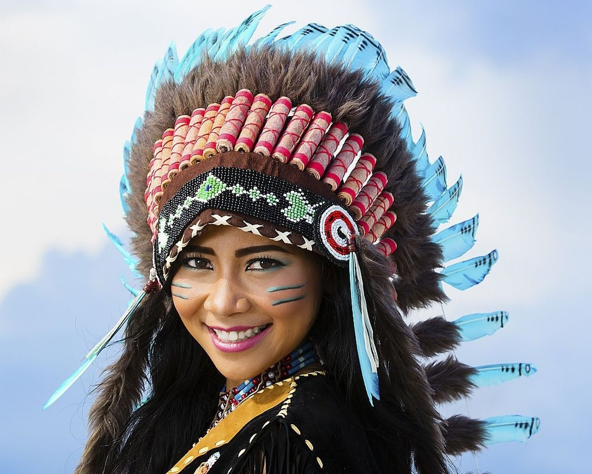Native American Girl Free Image