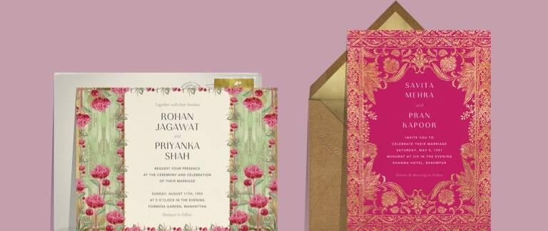 indian wedding cards send online