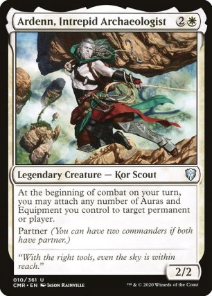 Ardenn, Intrepid Archaeologist (CMR)