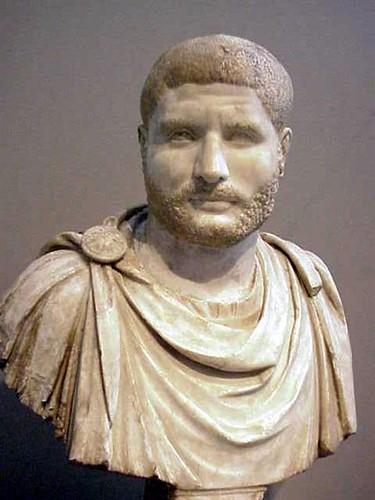 Roman Portrait of a Man resembling Gallienus 230240 CE  Flickr
