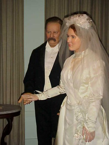 Grover Cleveland and his Bride Francis Folsom