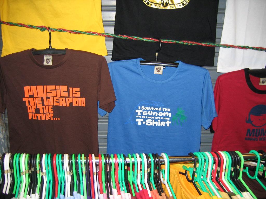 Tsunami Survivor T Shirt