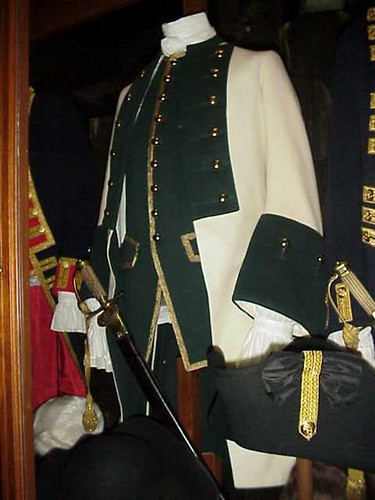 18th Century Russian Officers Uniform Jpg Photographed