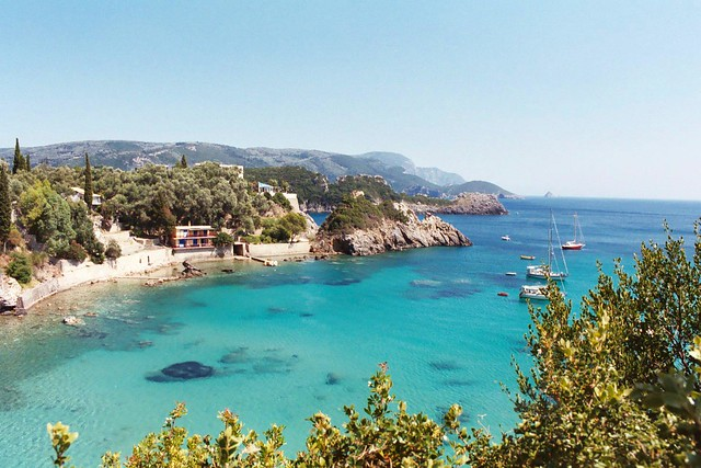 Beach in Corfu