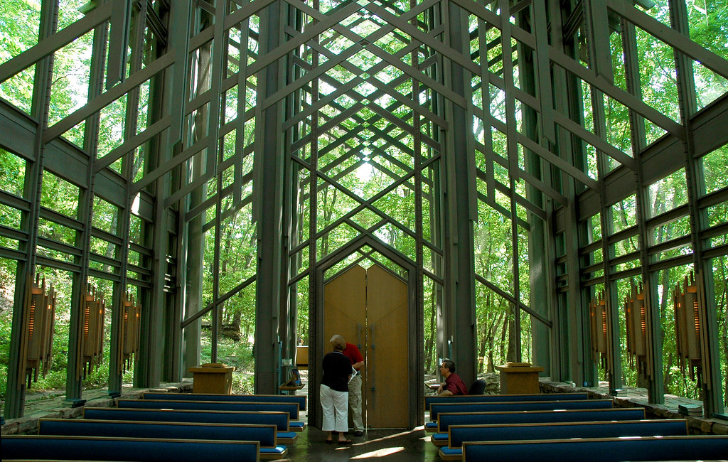 Thorncrown Chapel Interior I Believe Fay Jones Must Have