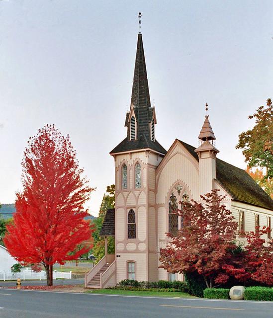 Jacksonville Oregon Presbyterian Church  Church built in
