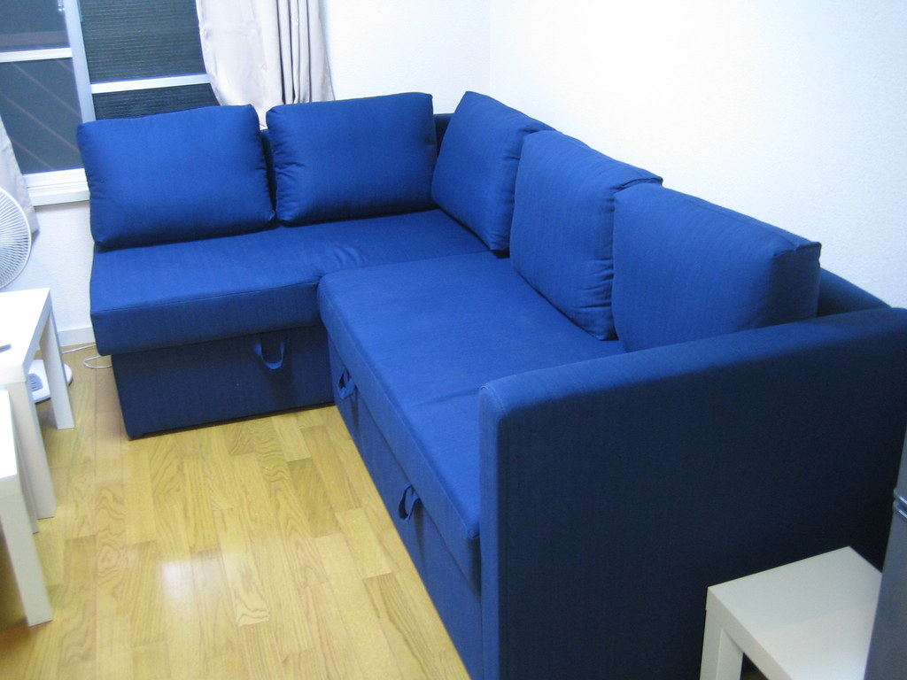Pull Out Bed Sectional