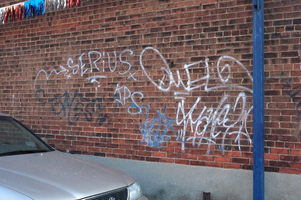 Bad Graffiti  Downtown has no shortage of graffiti covered   Flickr