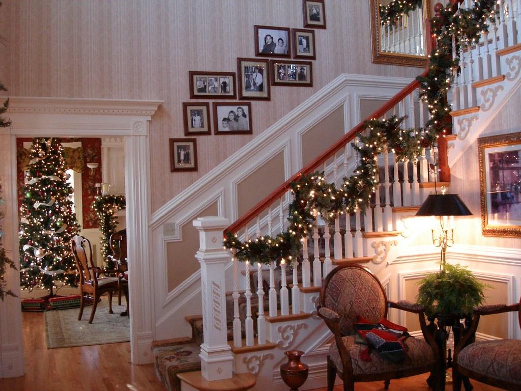 Foyer Christmas Decor  curlygurl  Flickr