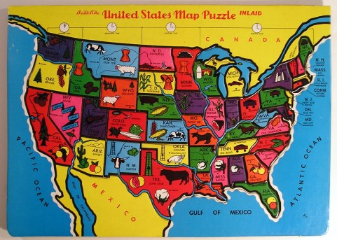 Image result for map of the united states image