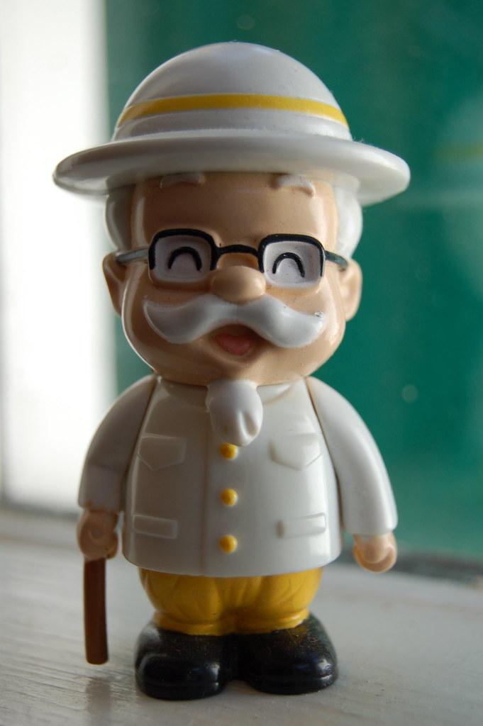 kentucky fried chicken colonel sanders around the world pr  Flickr