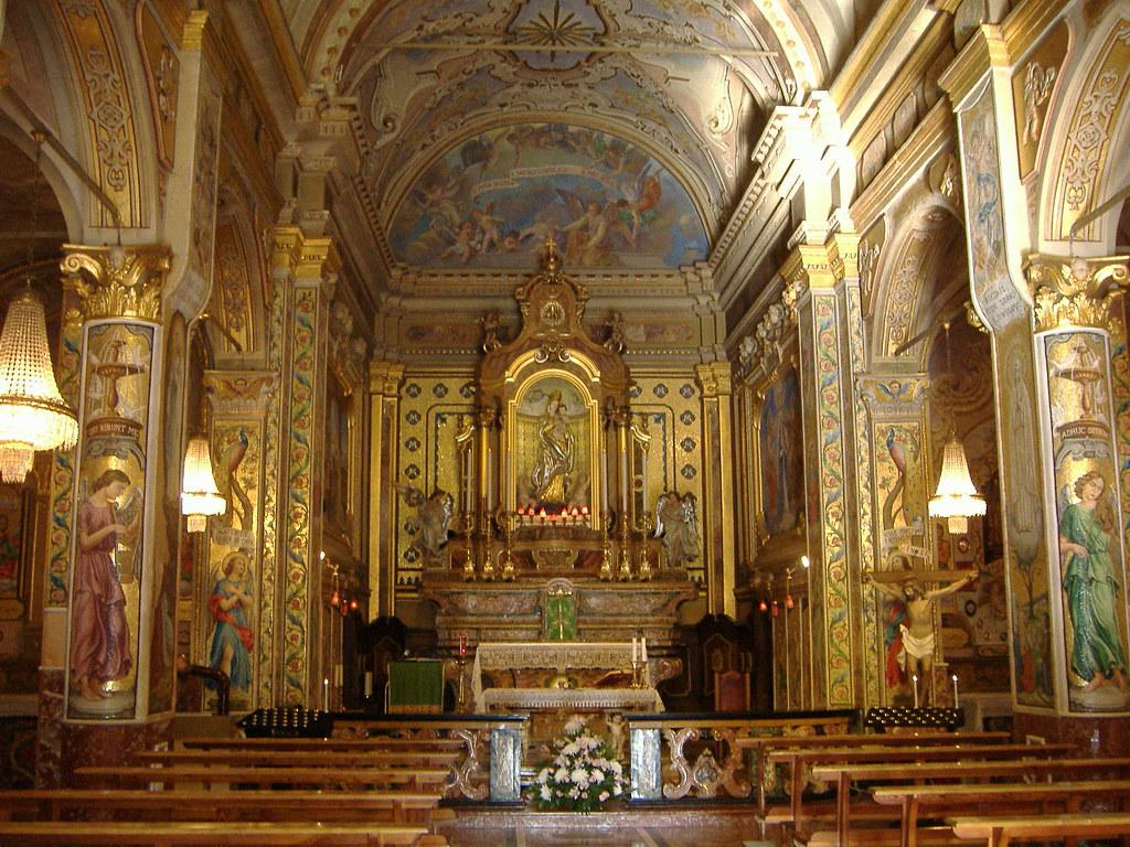 Pizzighettone Chiesa San Pietro Interno Umberto Flickr