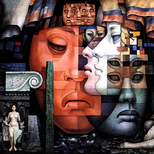 Mural de Jorge Gonzalez Camarena  Mural del artista