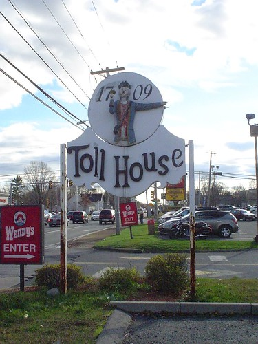 Whitman  Site of the Toll House Inn  From Wikipedia