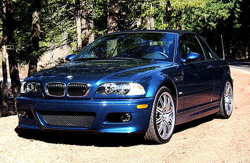 2004 BMW M3 Convertible Front  Front profile picture of