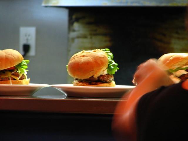 Burgers at Le Twist