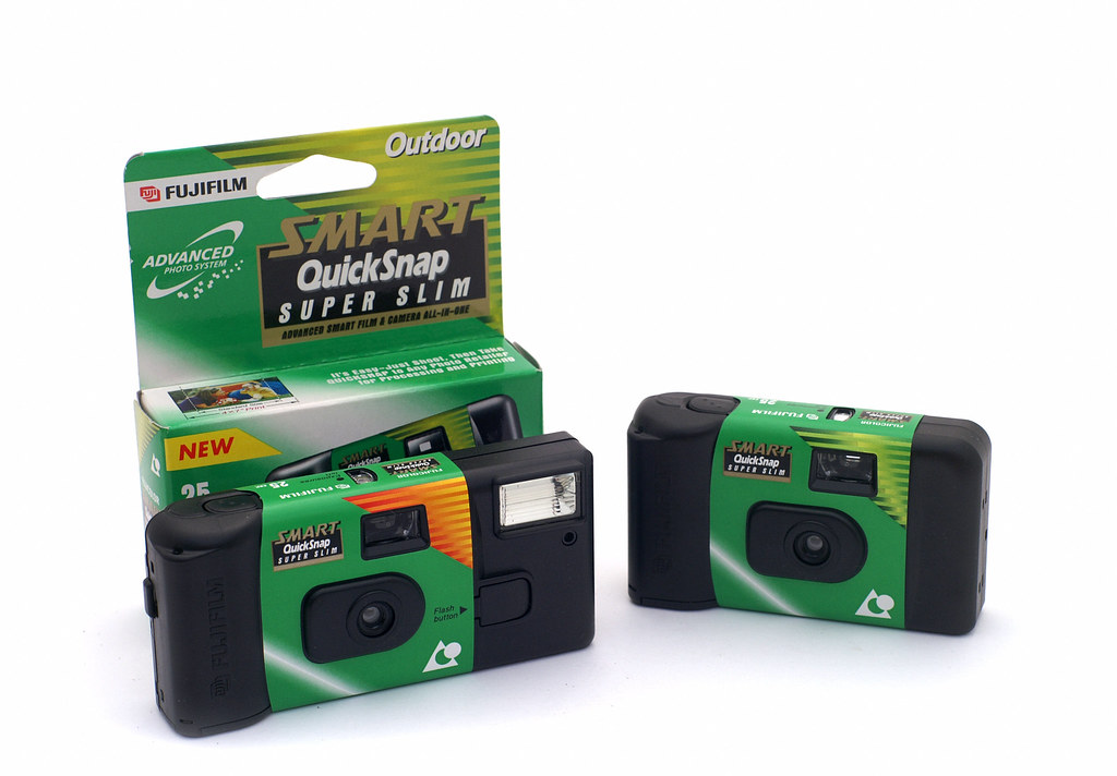 Fuji Smart QuickSnap Super Slim Disposable APS Camera  Flickr