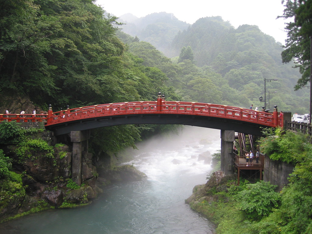 Shinkyo Sacred Bridge Nikko Japan  Paul Mannix  Flickr