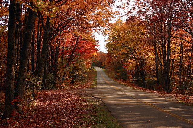 Fall Coastal Desktop Wallpaper Blue Ridge Parkway A Serene Place Quiet For The Moment