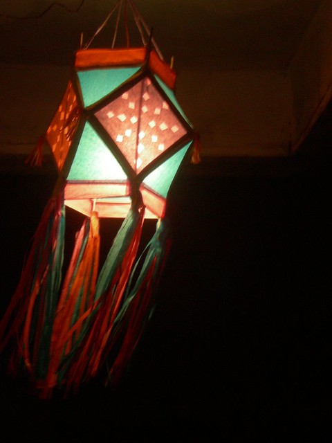 Aakash Kandil  Hand made lantern prepared by my BIG B for t  Flickr