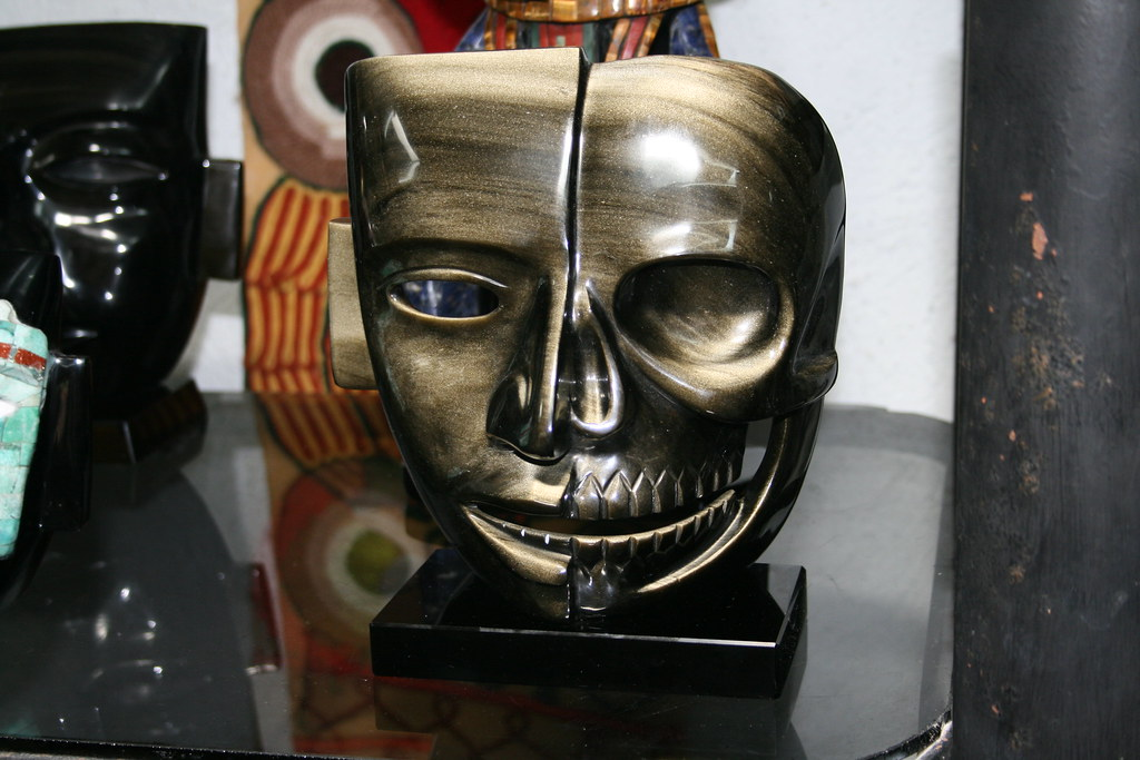 Mayan Life  Death Mask  This mask represents how the maya  Flickr