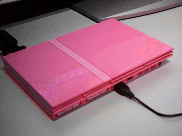 Pink PlayStation 2 2006 Set Gaming Consoles Shiny
