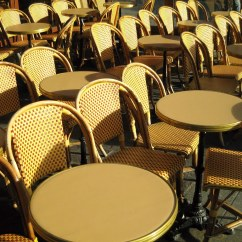 Parisian Cafe Chairs Ergonomic Chair For Your Back Paris Café On A Chilly Late Fall Day They All