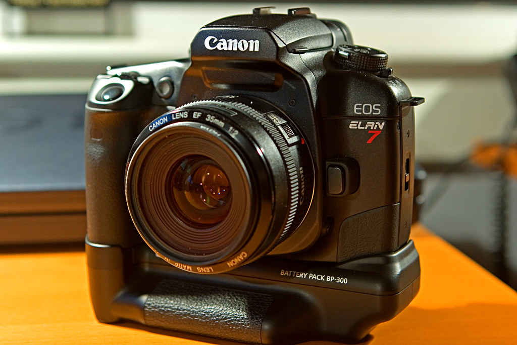 Canon EOS Elan 7 EOS 33 Gonna Go Back In Time My