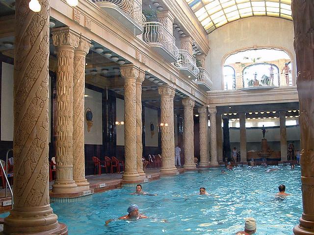 Gellert Budapest Baos En El Hotel Gellrt Gellrt
