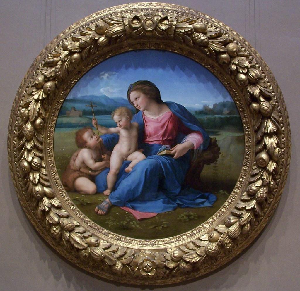 Raphael  The Alba Madonna 1510  Thiago Santos  Flickr