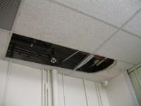 ceiling tiles broken | Ceiling tiles missing and broken ...