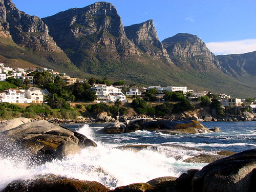 Cape Town Twelve Apostles Mountain Range and Camps Bay