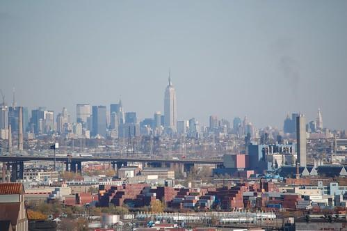 Manhattan Skyline From 1180 Raymond Boulevard Newark NJ