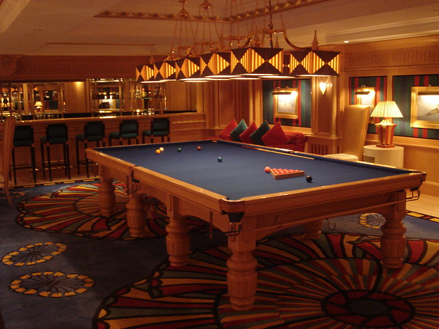 Billiard room Burj AlArab  The Burj AlArab Hotel is an