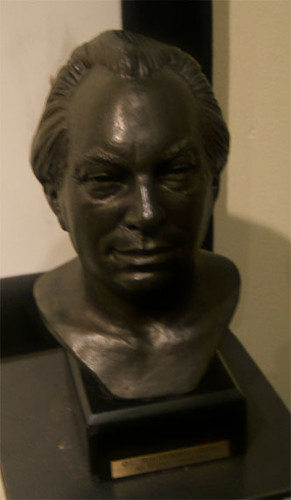 Bust of L Ron Hubbard  This is a bust of L Ron Hubbard