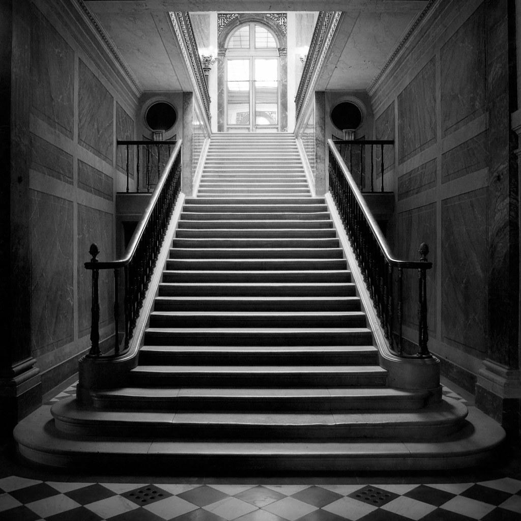 Escalier de roi  Stairs in the Versailles castle The LP
