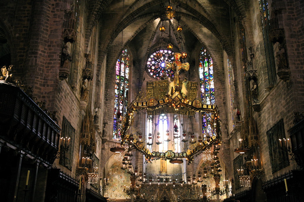 Find the perfect barcelona cathedral stock photos and editorial news pictures from getty images. Gaudi in the Cathedral in Palma de Mallorca   This work of